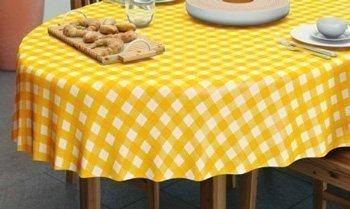 Ovaal tafelkleed
