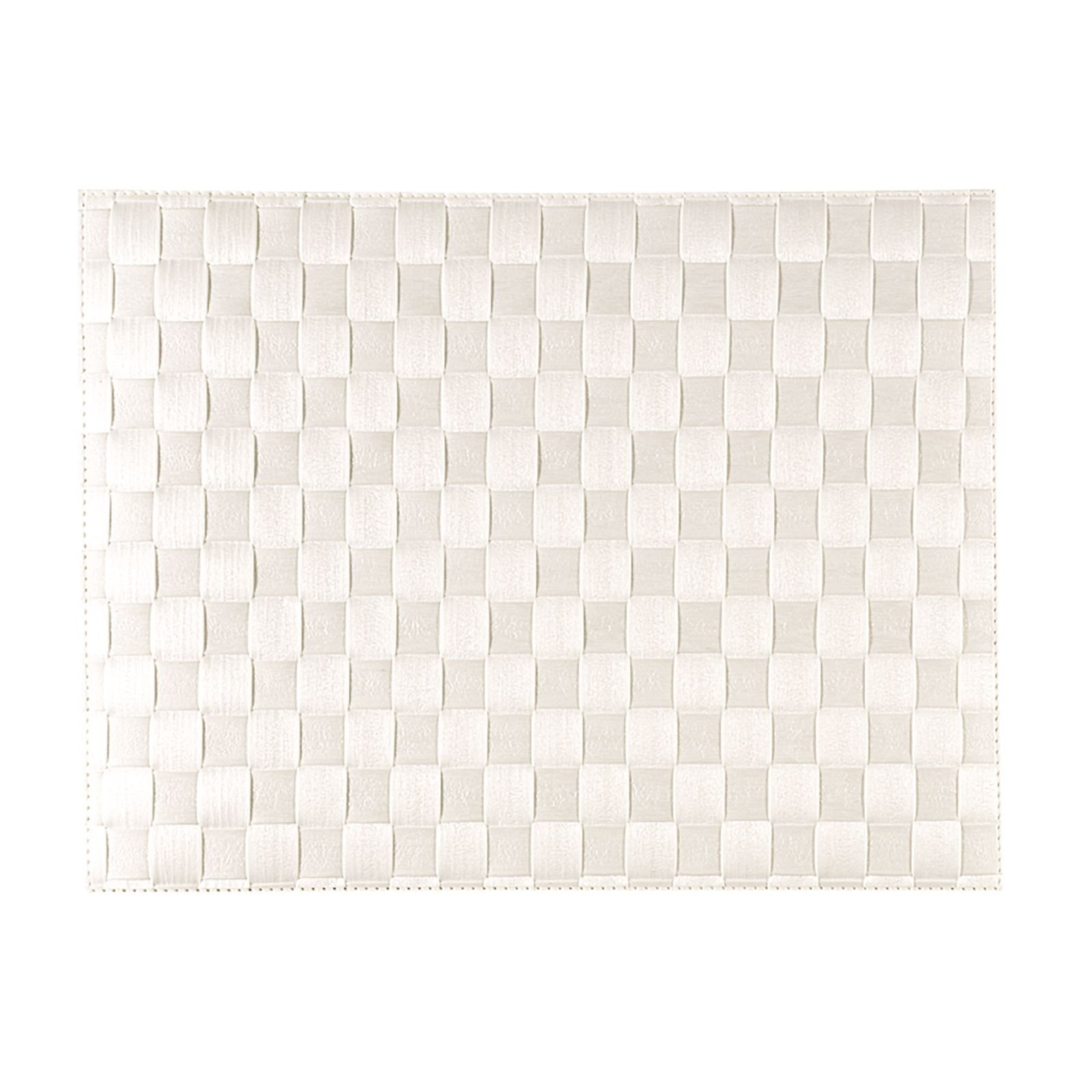 Saleen Placemat - Geweven - White