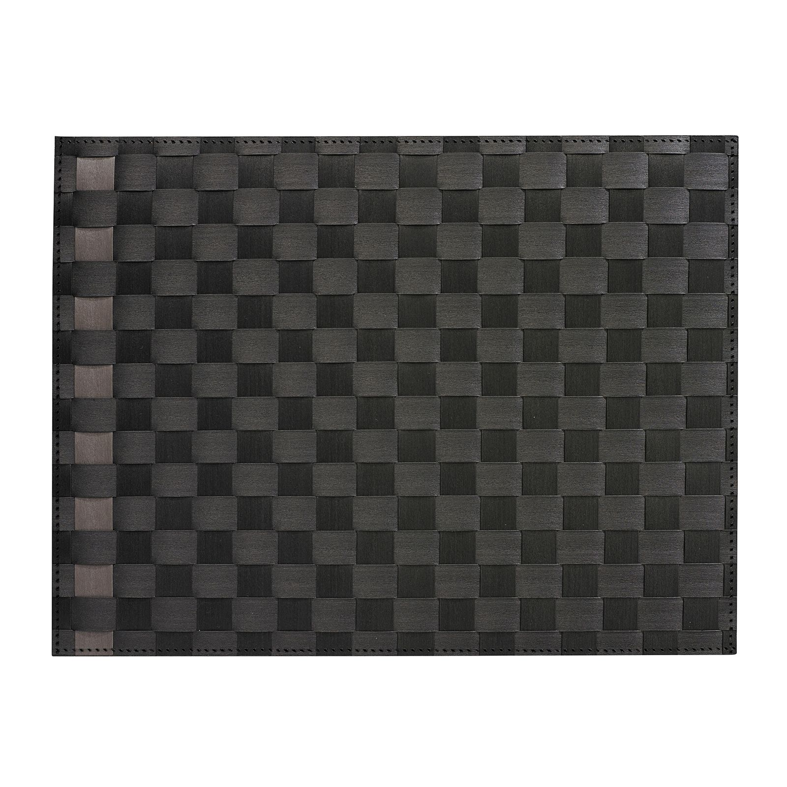 Saleen Placemat - Simplicity - Black+Taupe