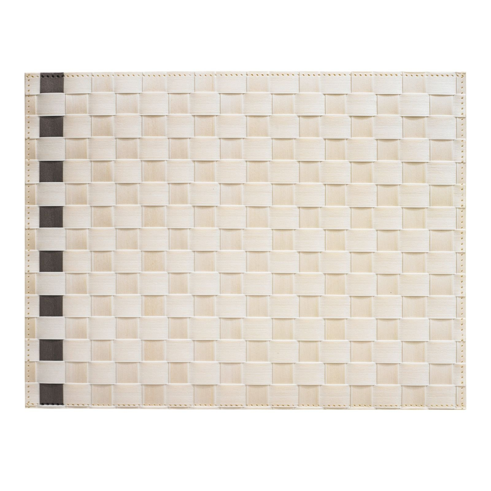 Saleen Placemat - Simplicity - Ivory+Taupe