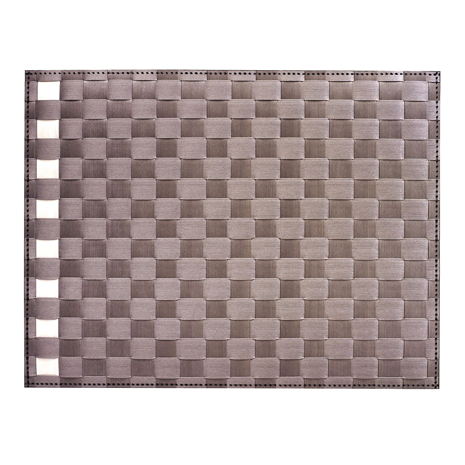 Saleen Placemat - Simplicity - Taupe+Ivory