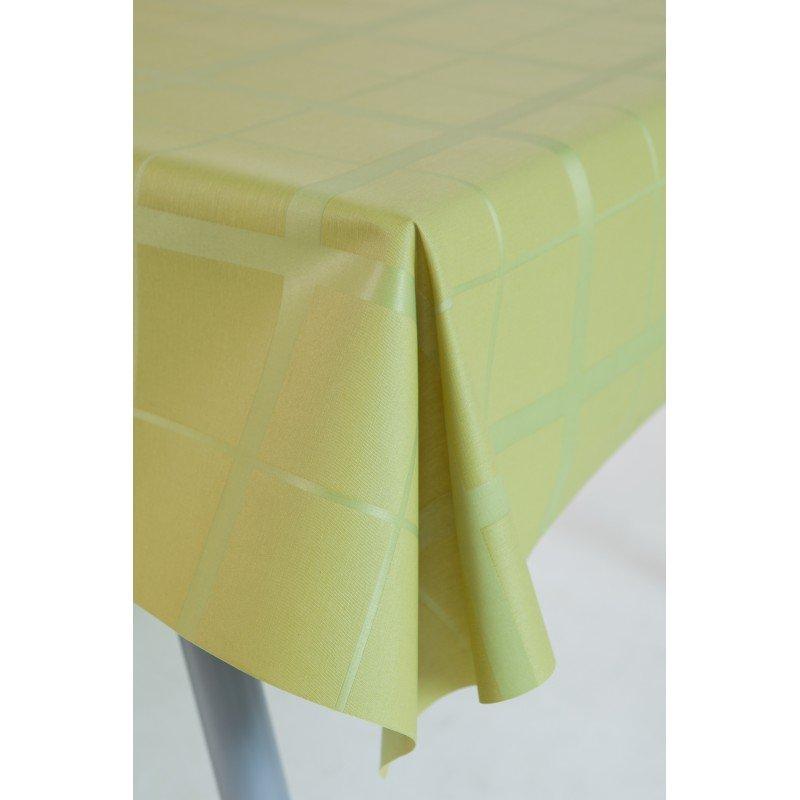 Gecoat tafellinnen Lys Lime