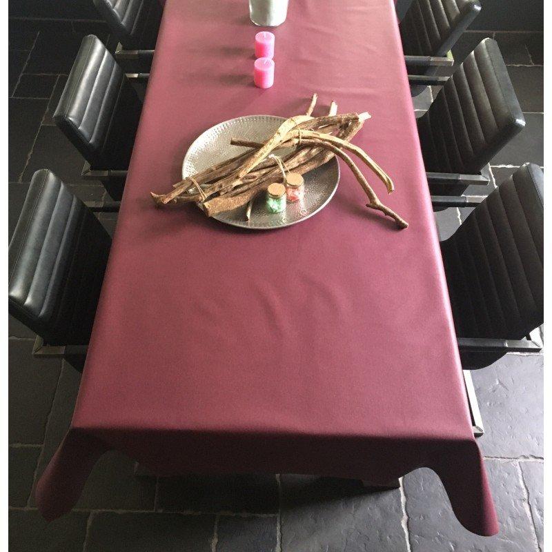 Gecoat tafellinnen Lino Vino