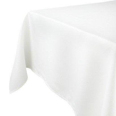 Tafelzeil Effen Wit - 120cm