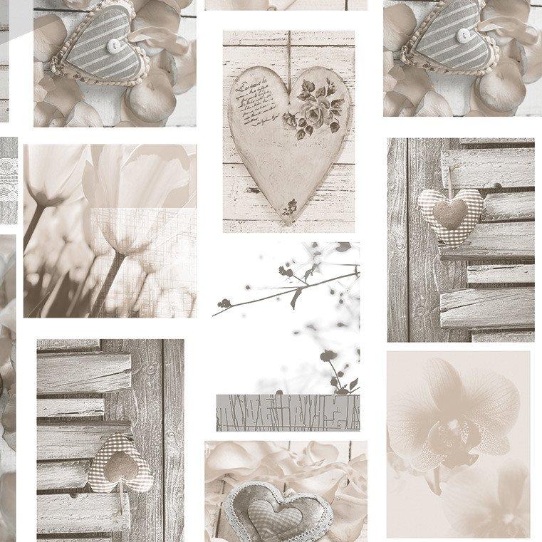 Tafelzeil Loving Hearts
