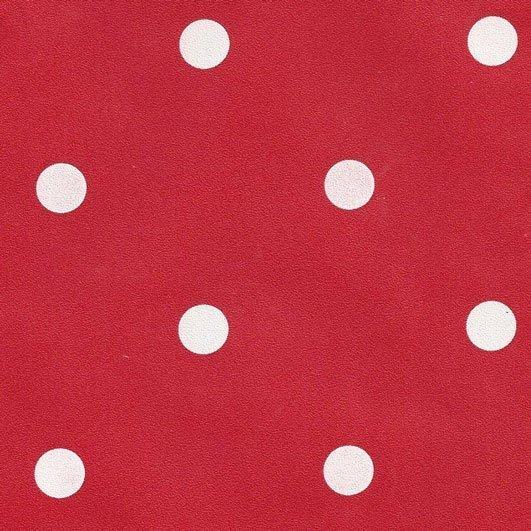 Plakfolie Dots Red 6325 - 45cm x 15m