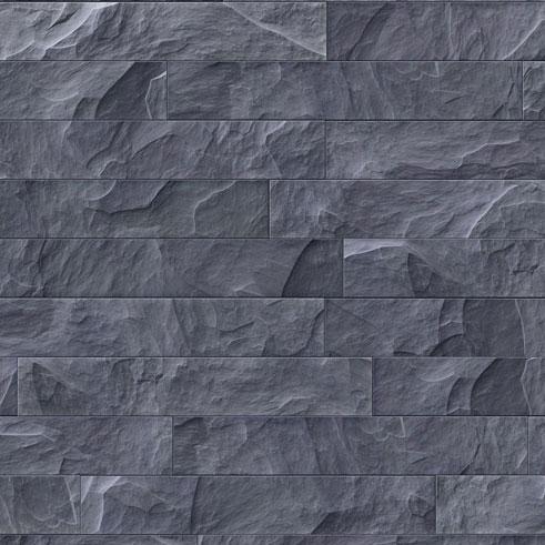 Plakfolie Natuursteen Antraciet 6470 - 45cm x 2m
