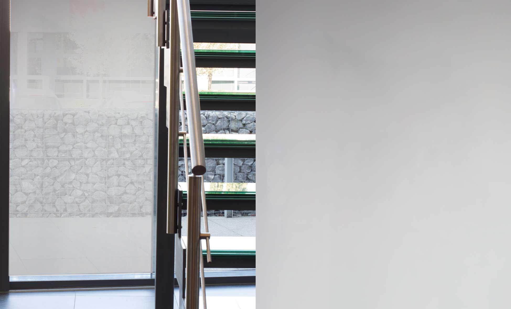 Statisch Zonwerende Raamfolie Lichtgrijs 9100 - 50cm x 15m