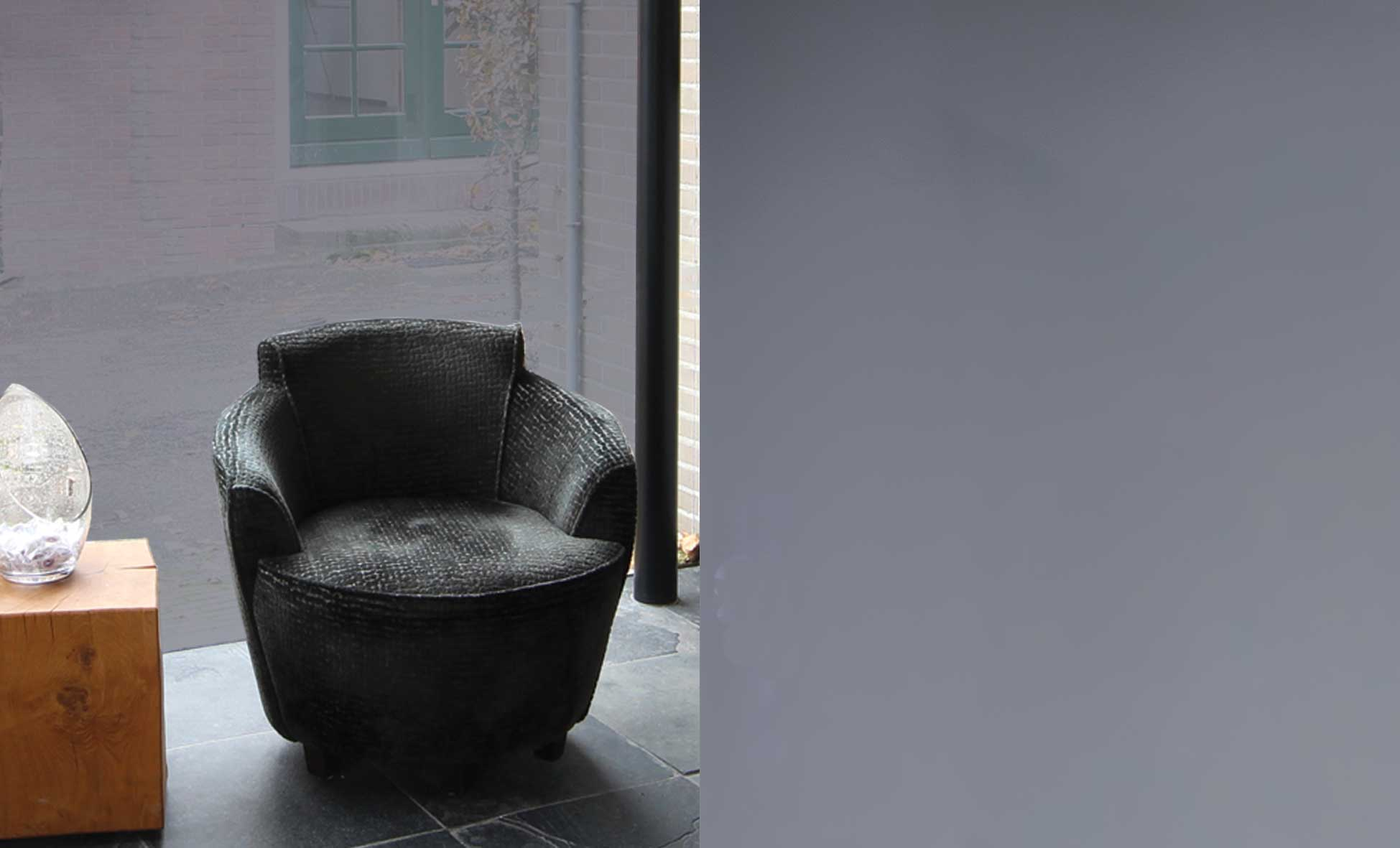 Statisch Zonwerende Raamfolie Donkergrijs 9105 - 50cm x 15m