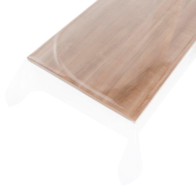 Helder doorzichtig tafelzeil 160cm breed - 0,2mm