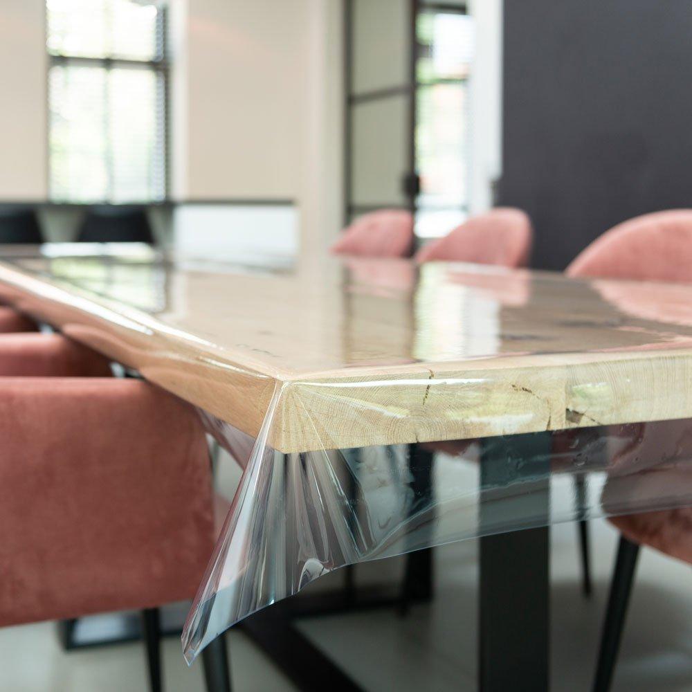 Doorzichtig tafelzeil Glashelder - 0,5mm